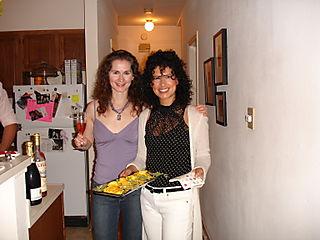 Rebecca and Alexandra