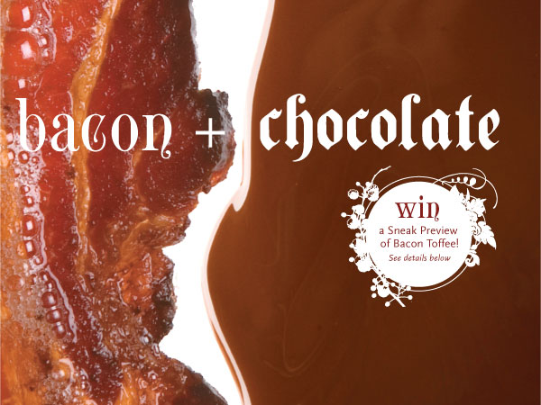Vosges bacon toffee invite